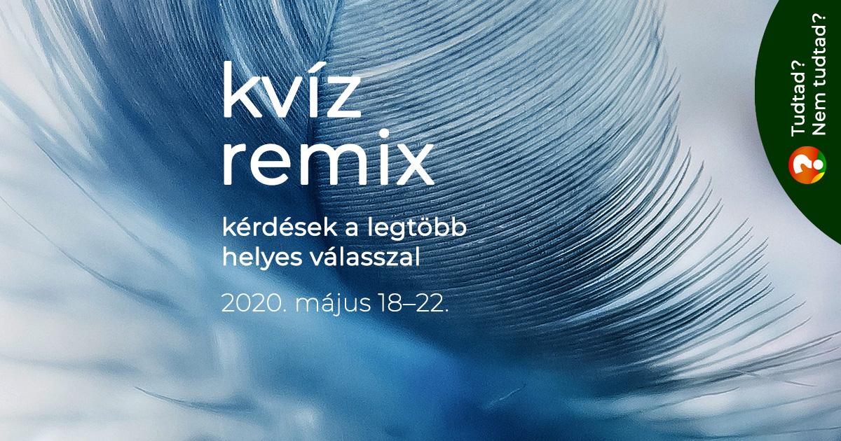 Remix: könnyű kérdések