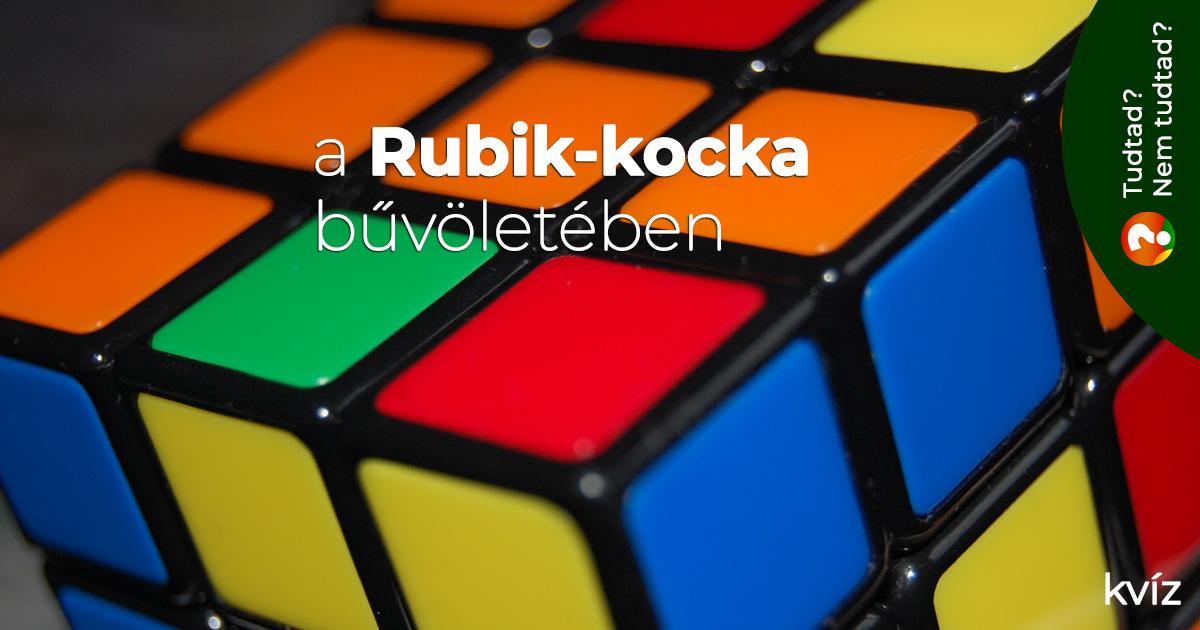 A Rubik-kocka bűvöletében