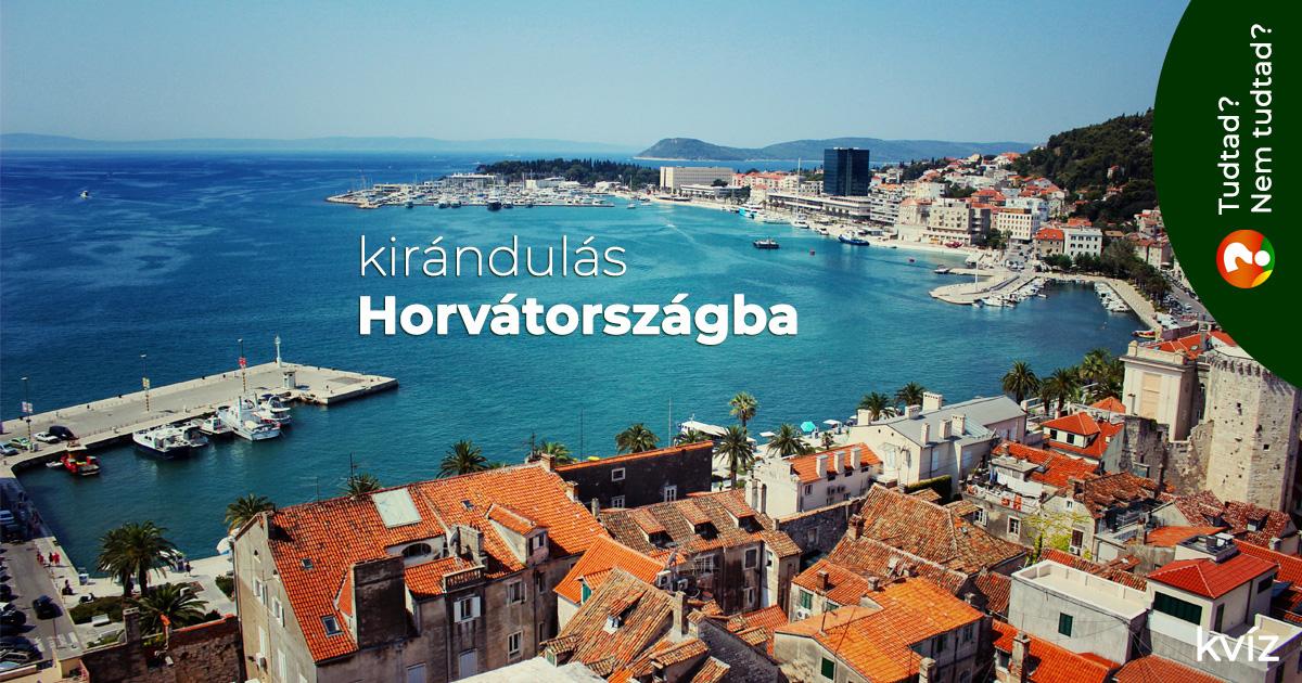 Kirándulás Horvátországba