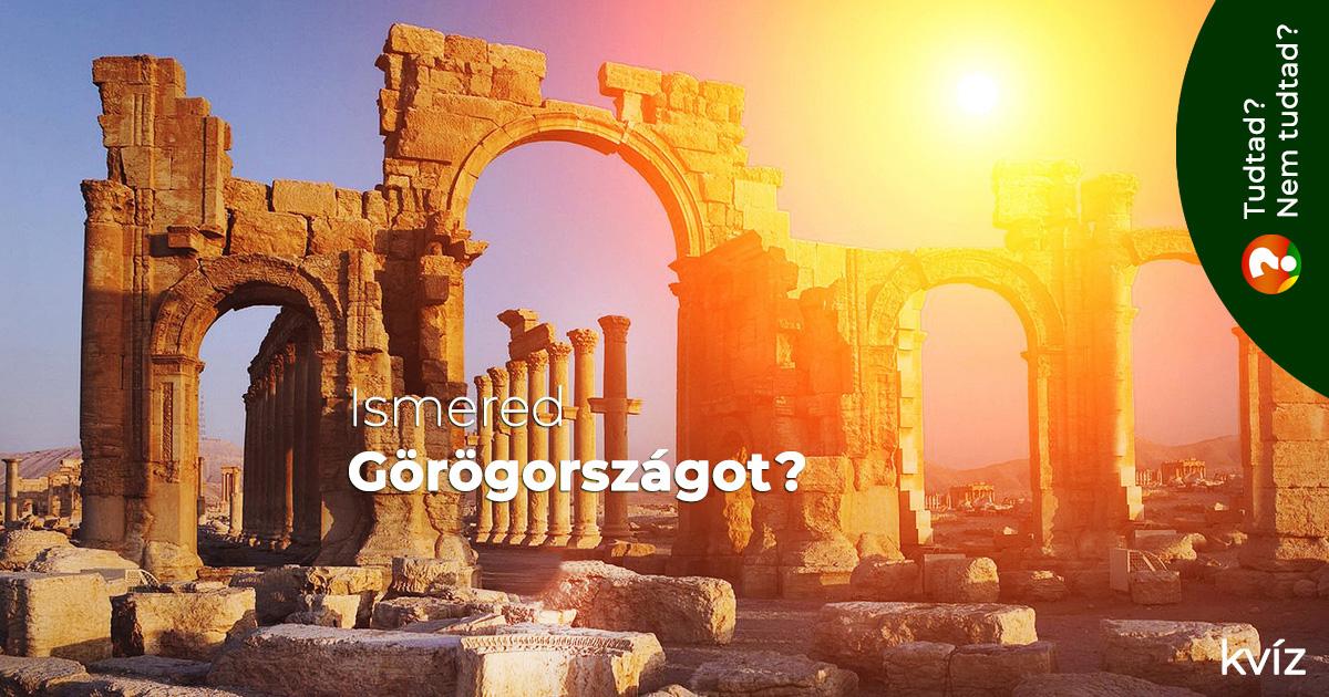 Ismered Görögországot?