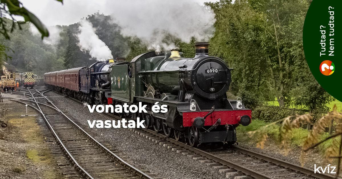 Vonatok és vasutak