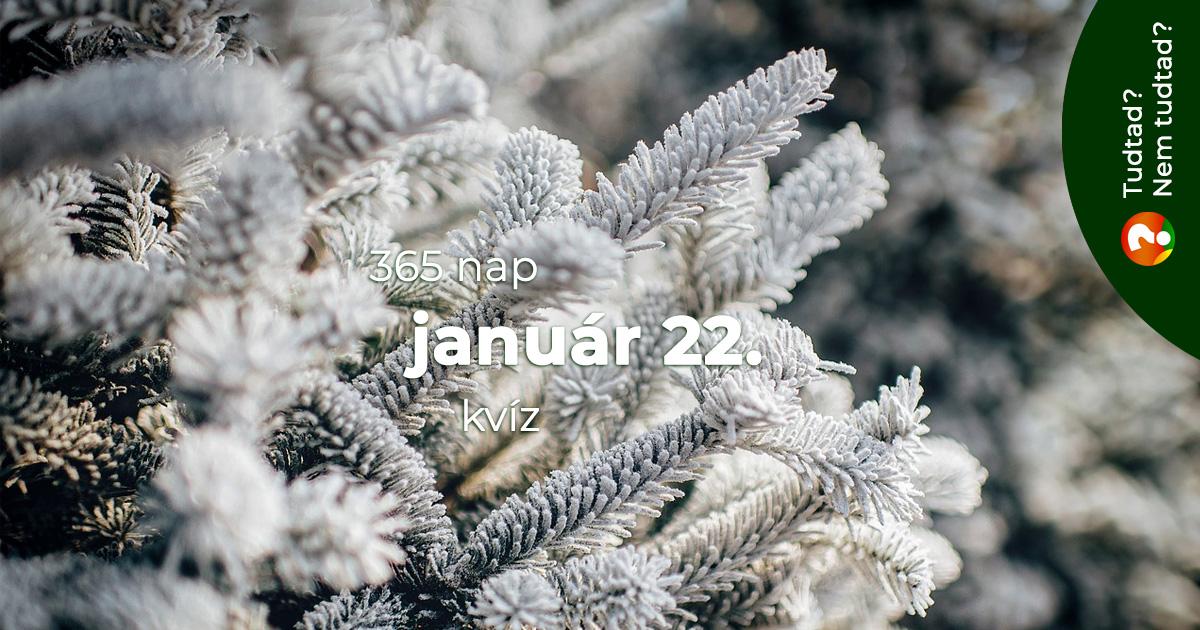 Kvíz - január 22.