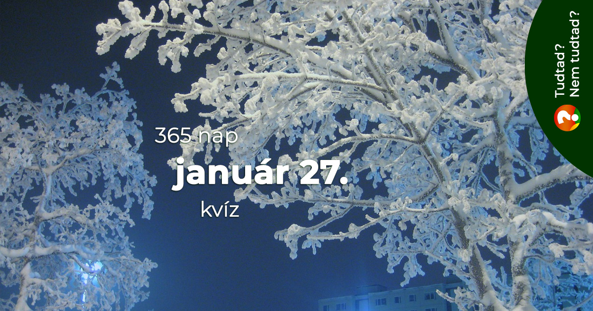 Kvíz - január 27.