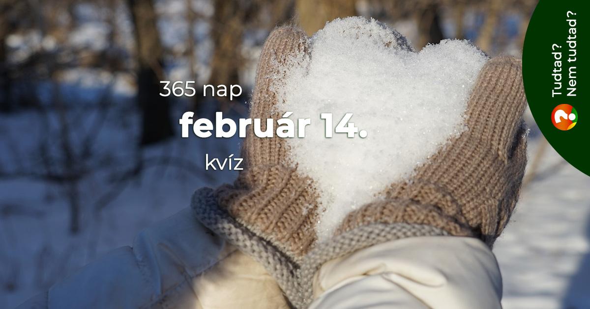 Kvíz - február 14.
