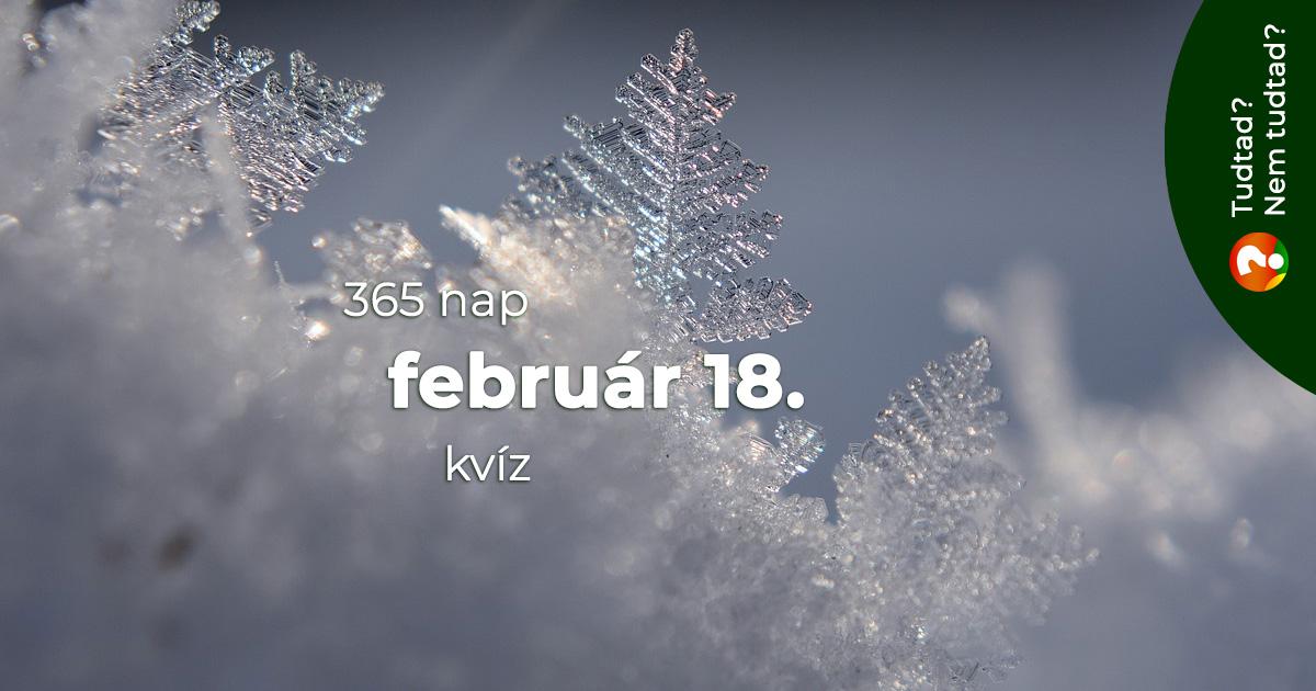 Kvíz - február 18.
