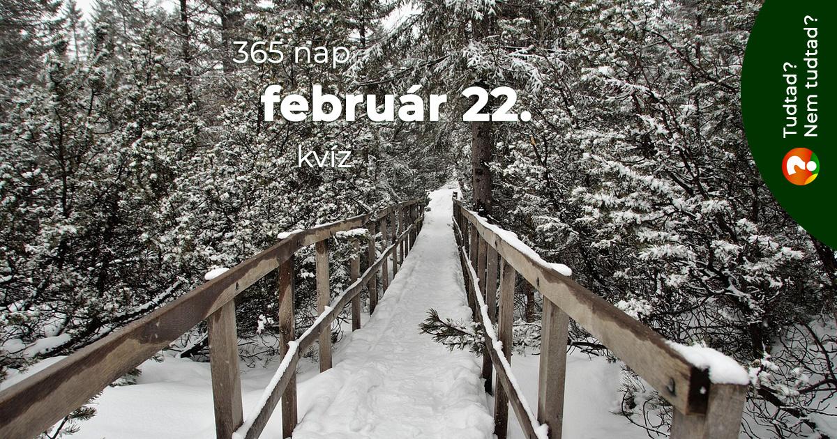 Kvíz - február 22.