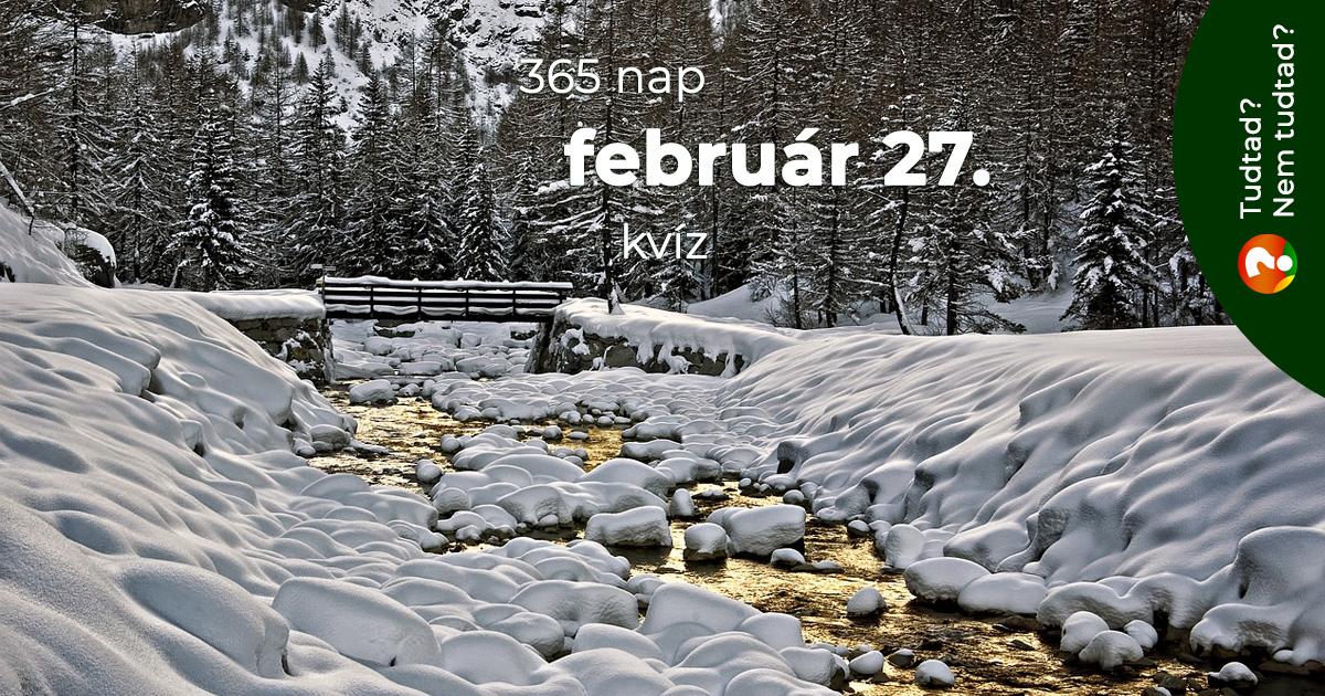Kvíz - február 27.