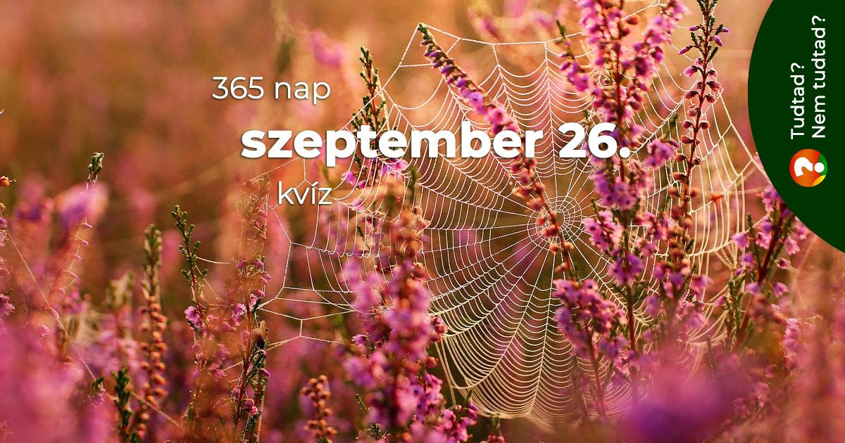 Kvíz - szeptember 26.